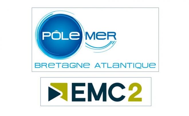 Akajoule rejoint les Pôles de Compétitivité Pôle Mer Bretagne Atlantique et EMC2