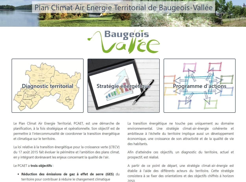 Plan climat en ligne